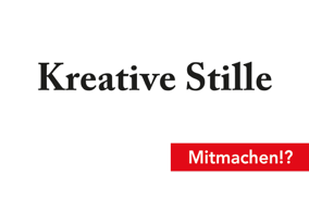 Kreative Stille 2015